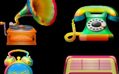 Les objets d'antan ou comment le smartphone a remplacé nos objets du quotidien